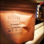 最後のビーンズ。THE COFFEE SHOP 代官山のカサブランカ・ニカラグア#thecoffeeshop#ザコーヒーショップ代官山#casablanca#nicaragua (by Instagram)