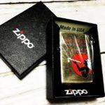 アメスピZIPPOの抽選に当たった! (by Instagram)