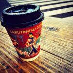 猿田彦珈琲で休憩。寒い!カップが渋い!そして美味い! (by Instagram)
